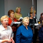 Some of the ladies in the choir