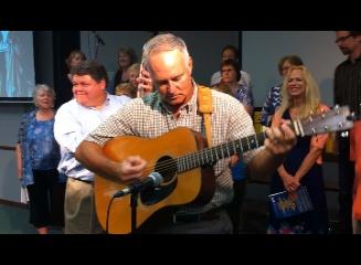 Guitar on Bluegrass Sunday!